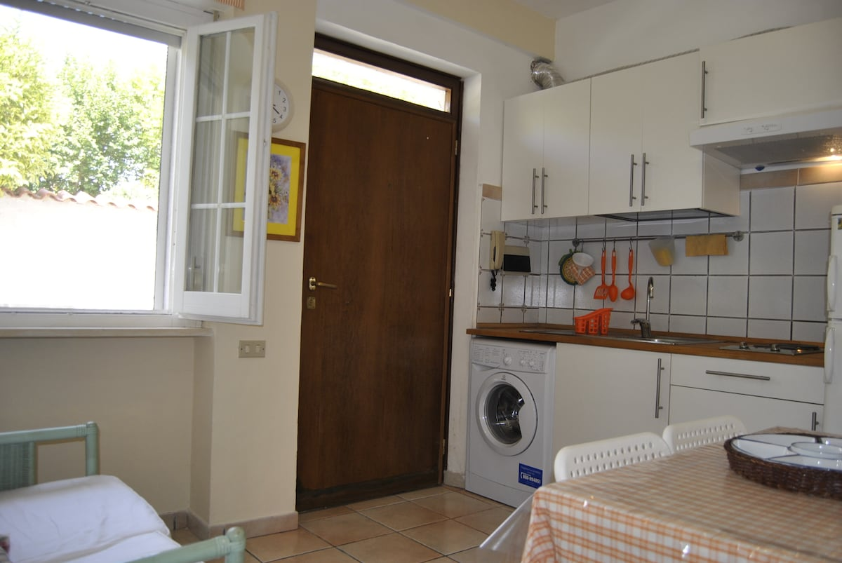 Apartament with courtyard (Station)