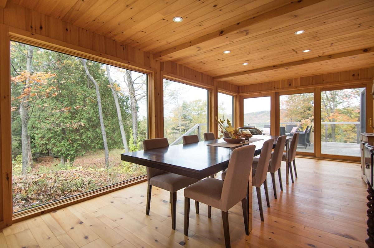 Modern luxury, idyllic setting