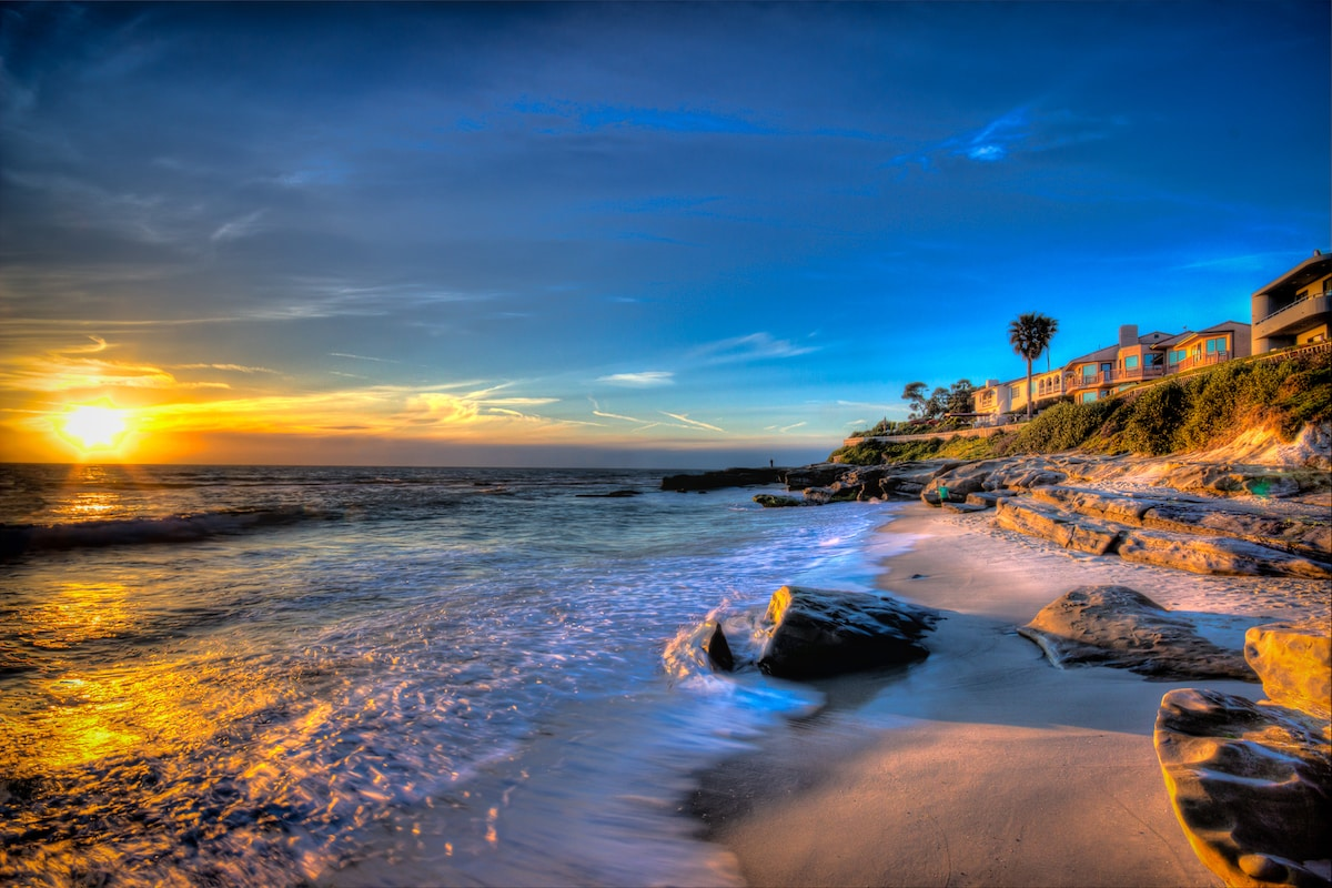 La Jolla Windansea beach escape!