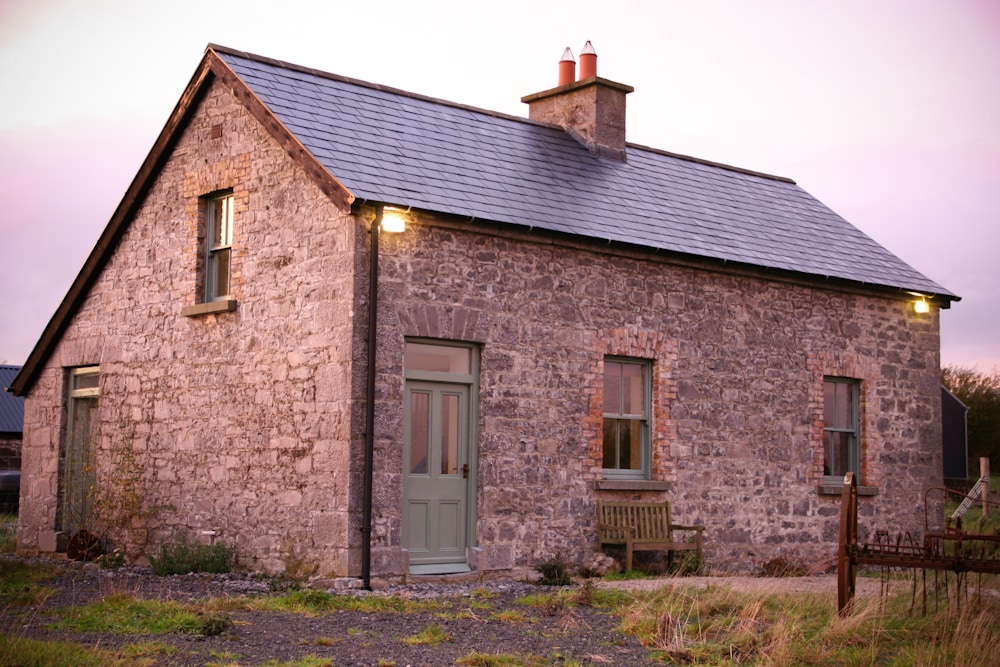 The Herd House at dusk