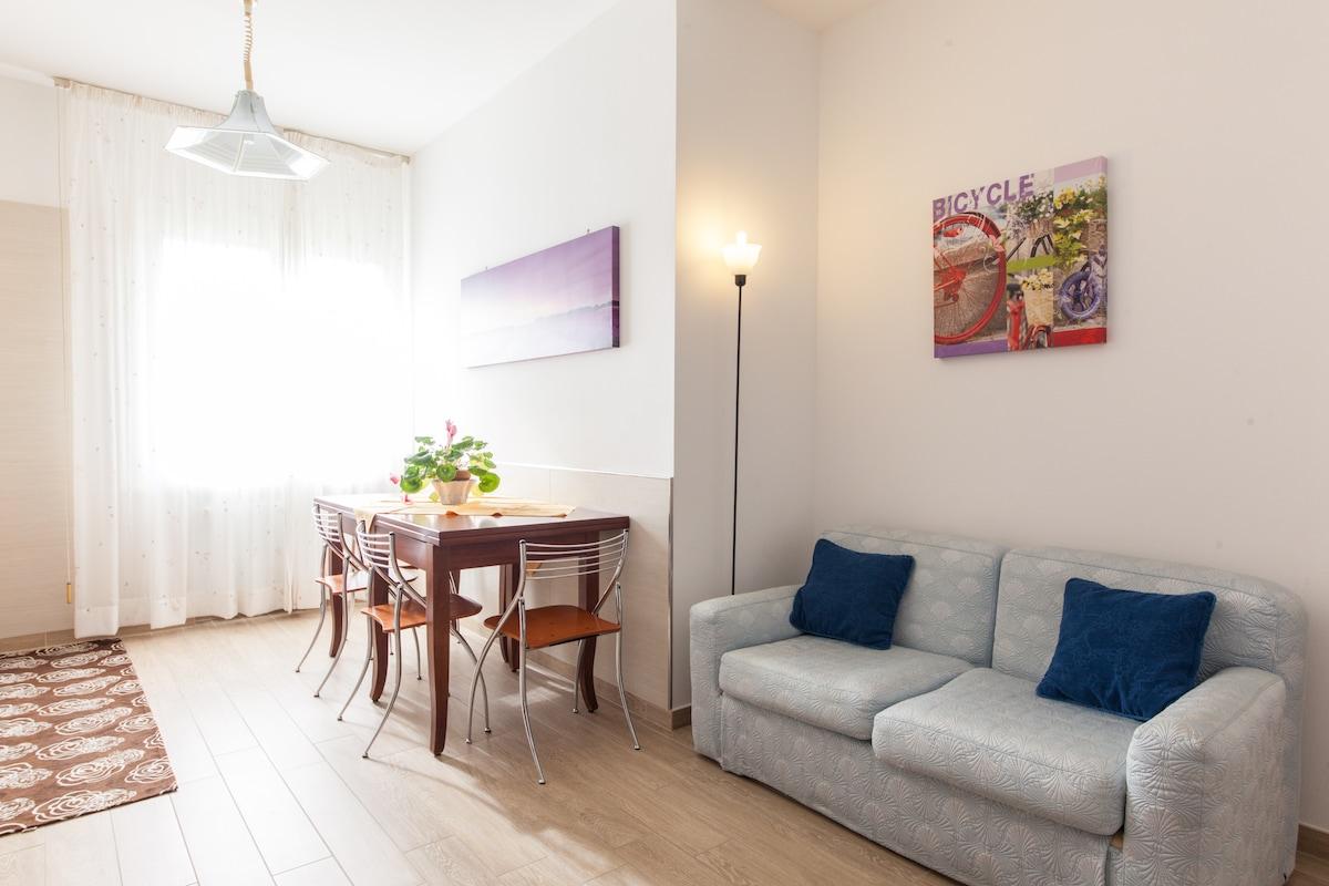 Two bedrooms apartment in Rimini