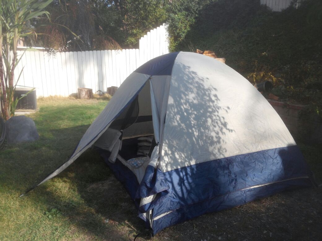 Air Mattress and Tent