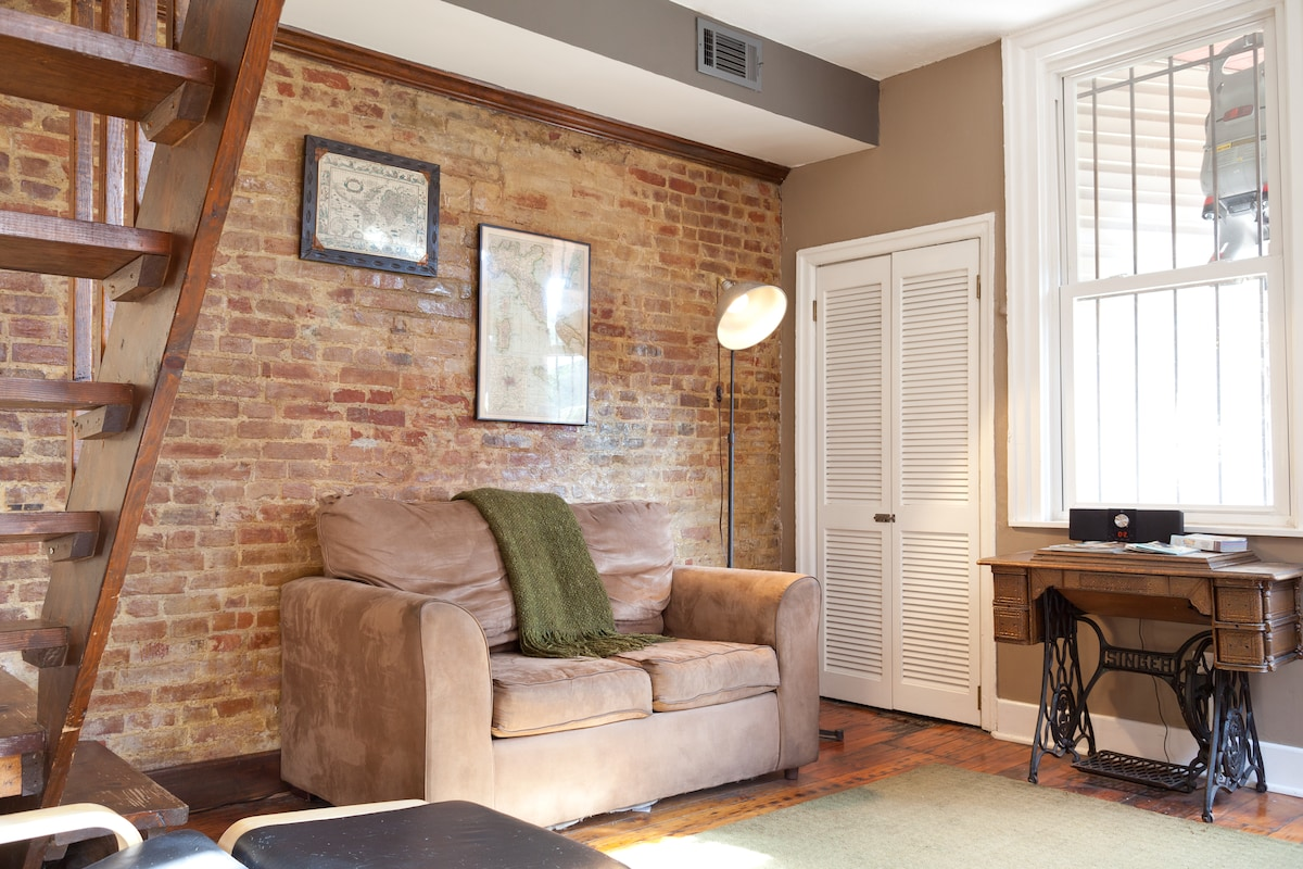 Cozy 1 BR Apt in Historic District