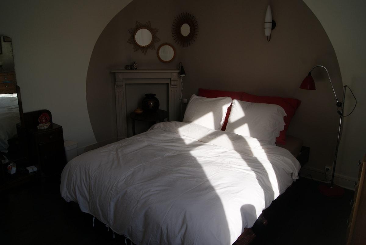 chambre au petit matin