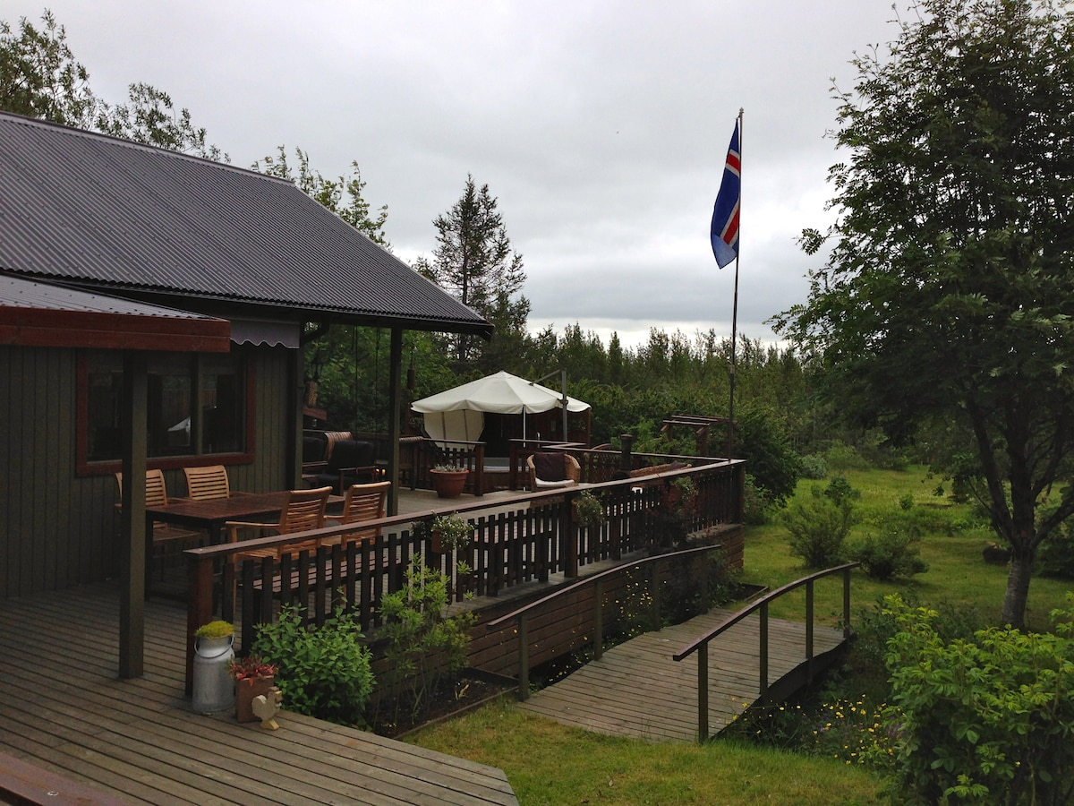 Charming summerhouse in Laugarvatn