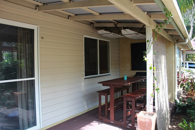 Byron Bay Self Contained Town House