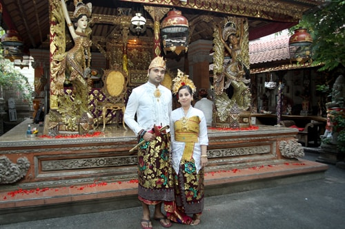 Special Balinese wedding package at Balinese compound