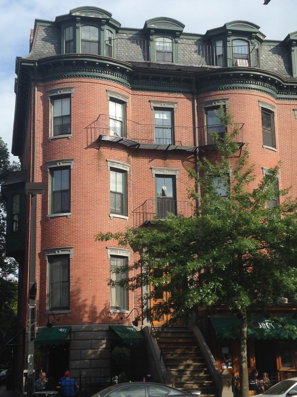 Brownstone in South End Boston