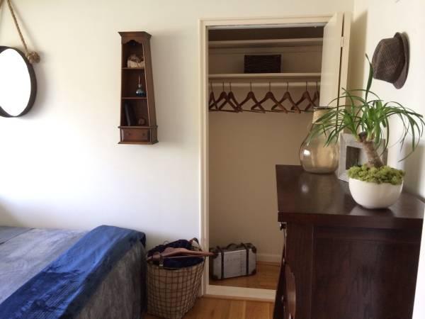 Sunny Bedroom in Bethesda