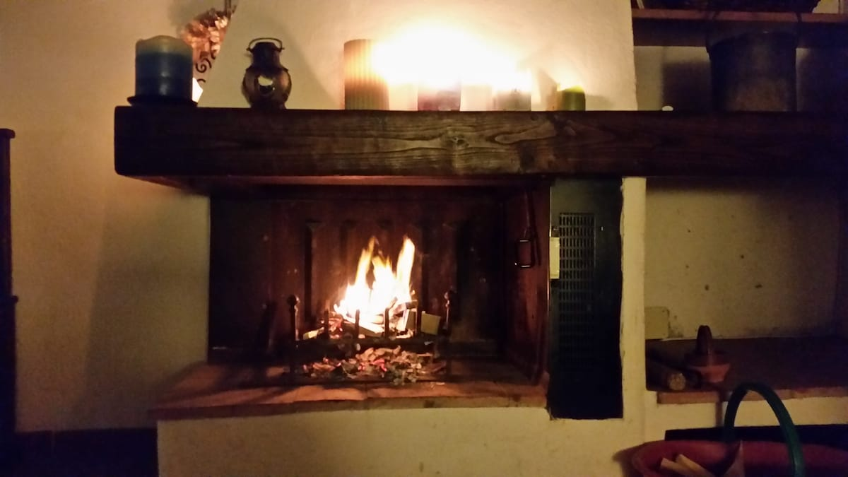 Fireplace! Photo by Chris Wright :)
