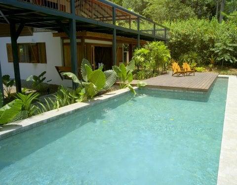Ocean View  And  Swimming Pool