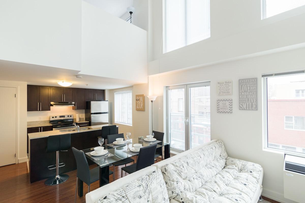 Old Montreal Luxury Loft-7