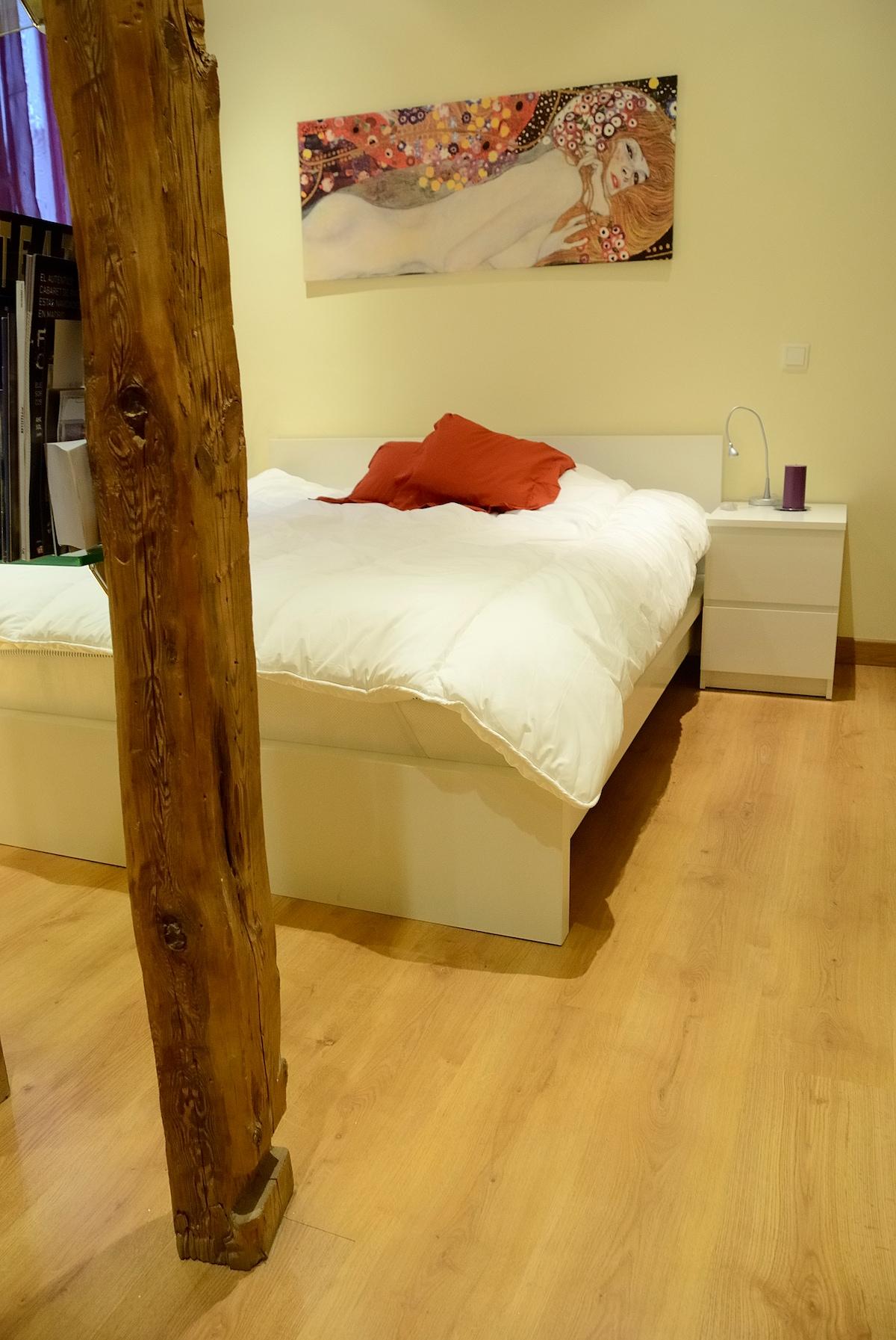 cama nueva con colchon de viscoelastic de alta gama