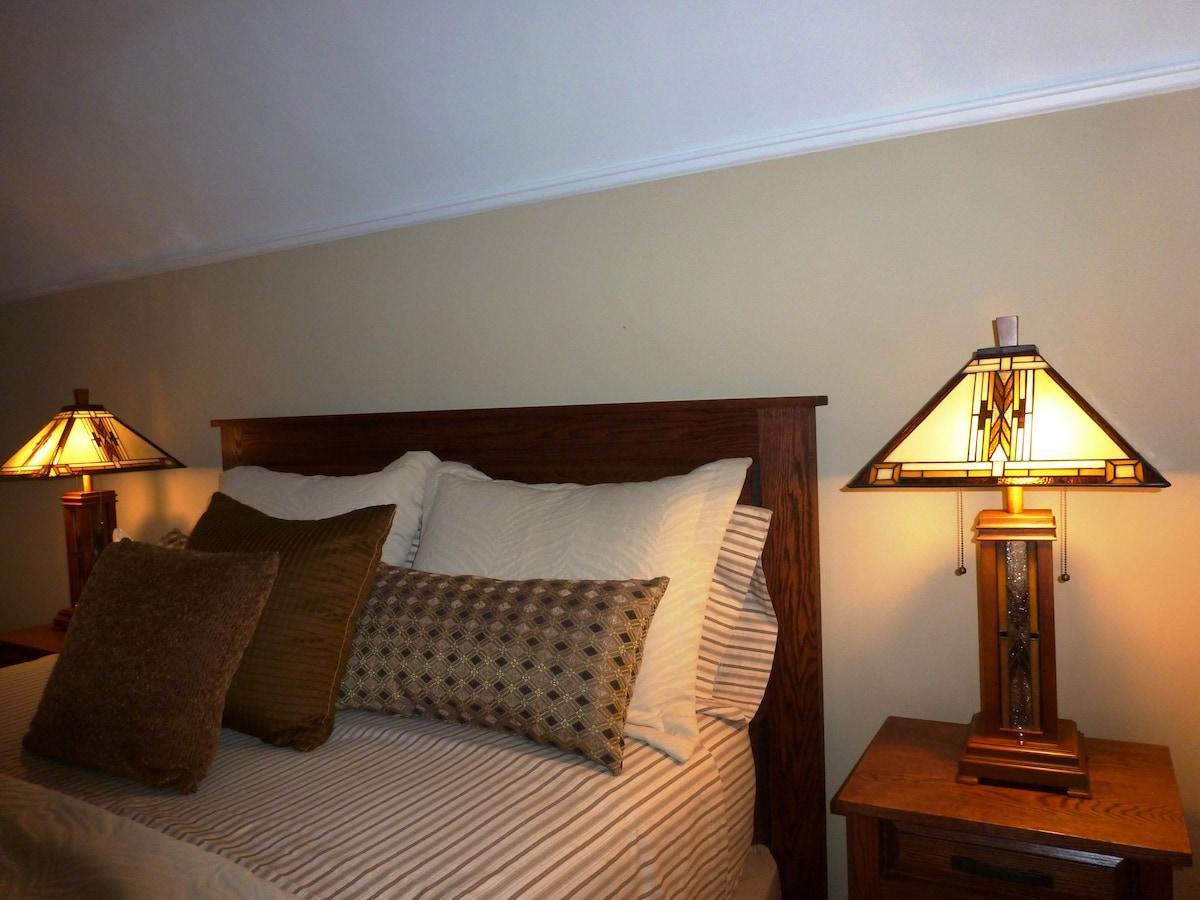 Private Bedroom & Personal Bath