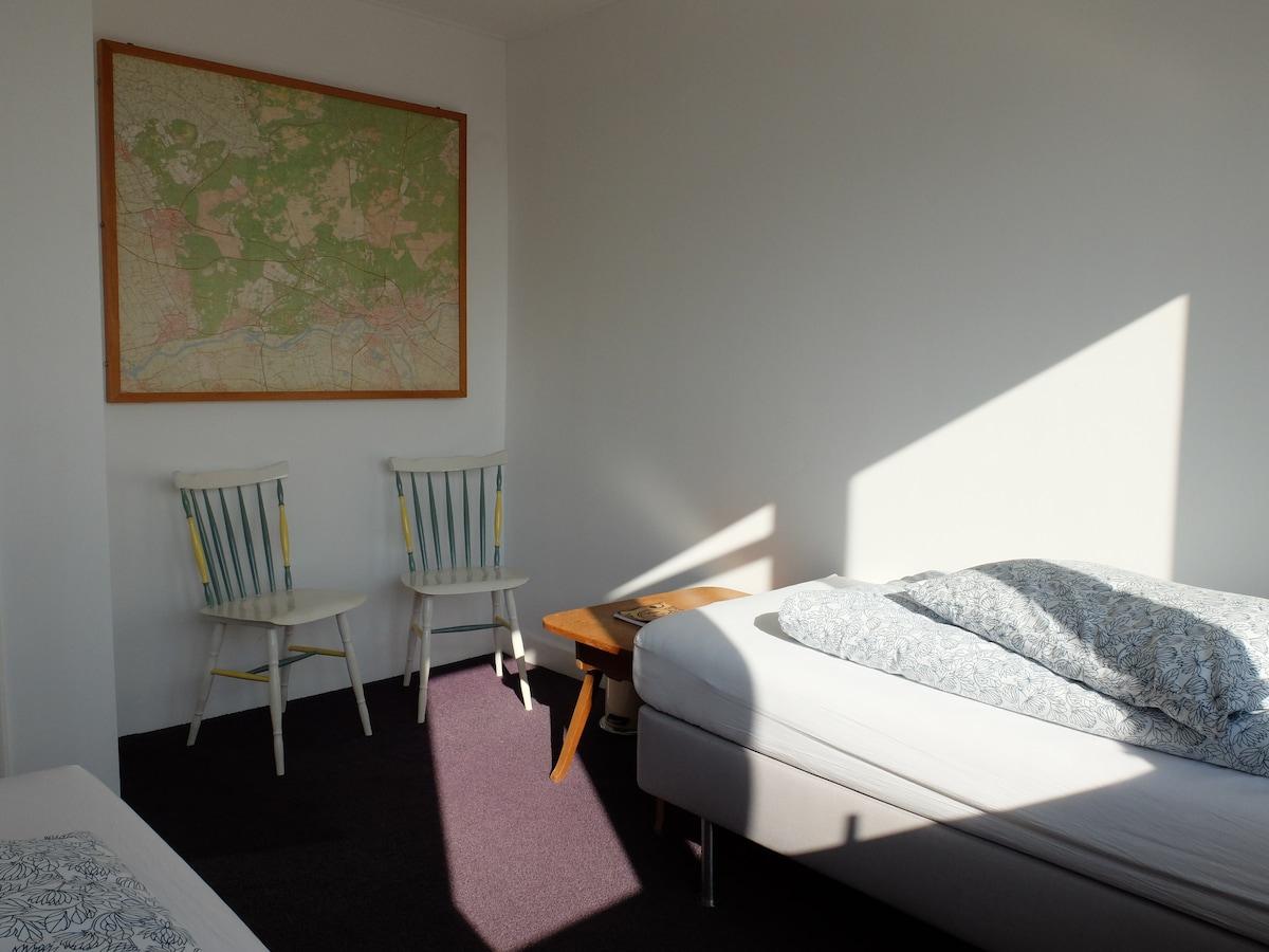 Bedroom 2, twin bed