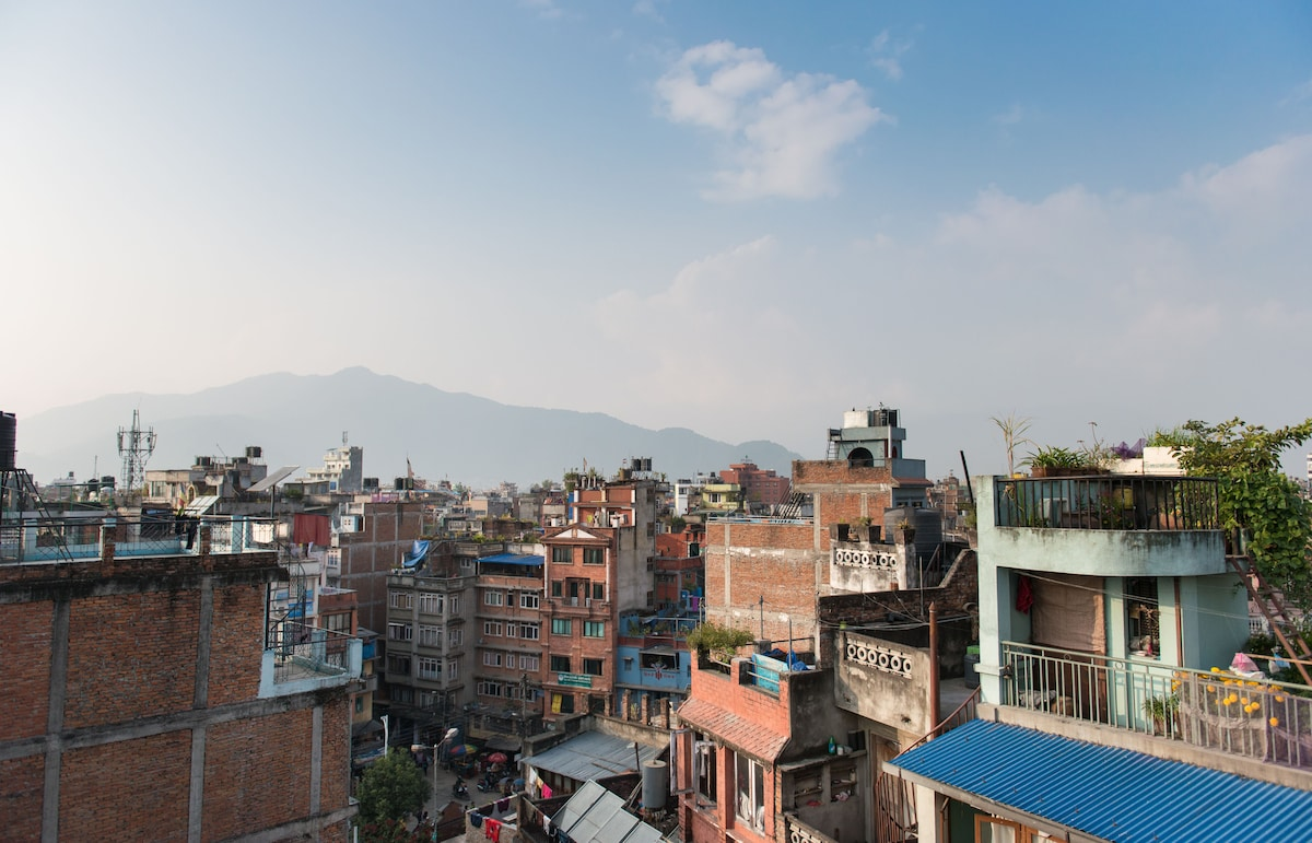 Your home  in Kathmandu Stupa.G.H.