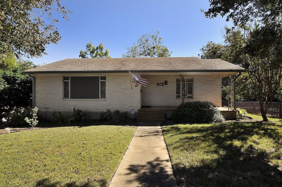 3BR/2BA Travis Heights House
