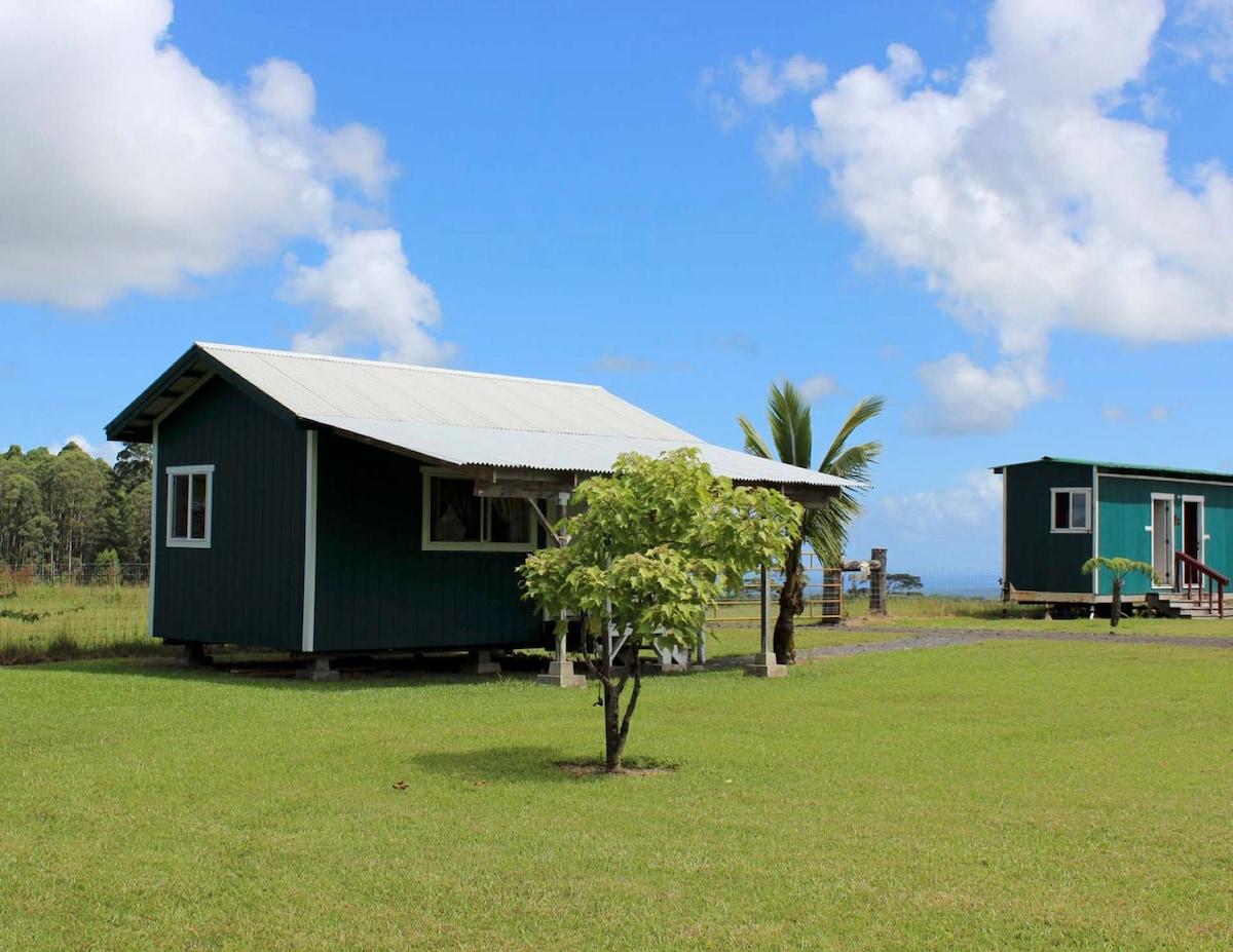 Ohia Pa'ani Cabin & Lantern!