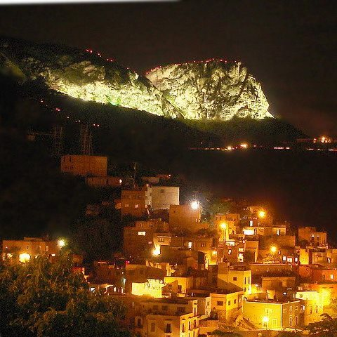 There is an annual pilgrimage to 'La Bufa', in Guanajuato. This is the annual procession. La Bufa can be viewed from the upper gardens.