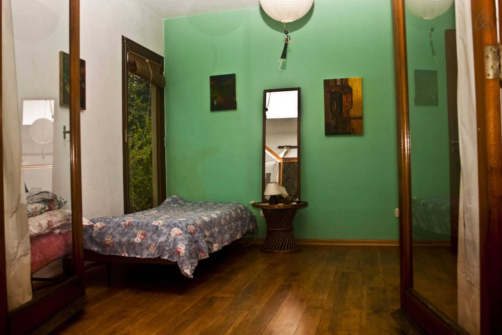 cuarto cama simple casa quinta