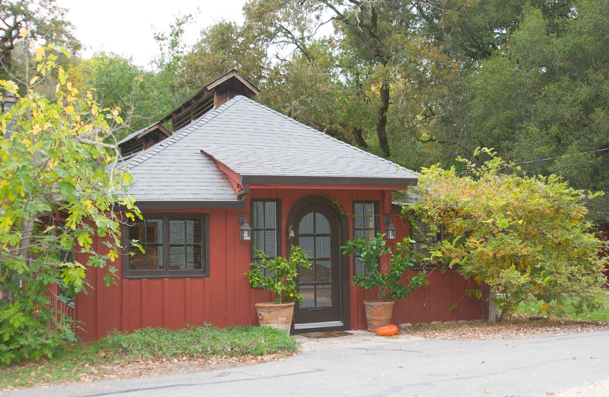 The Red Cottage 2BR in Wine Country