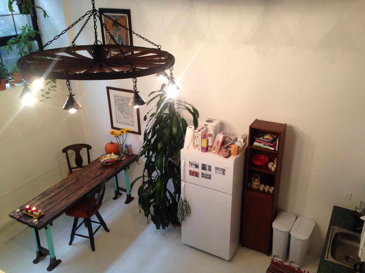 Artist's Loft in Brooklyn