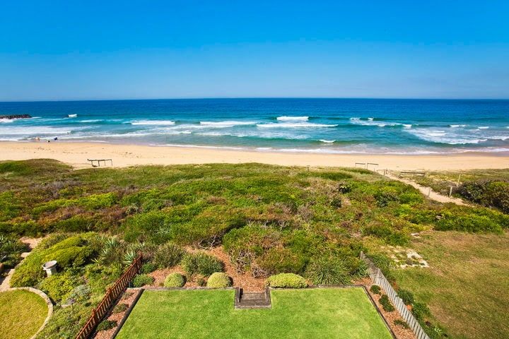 Top deck  view over North Avoca beach.