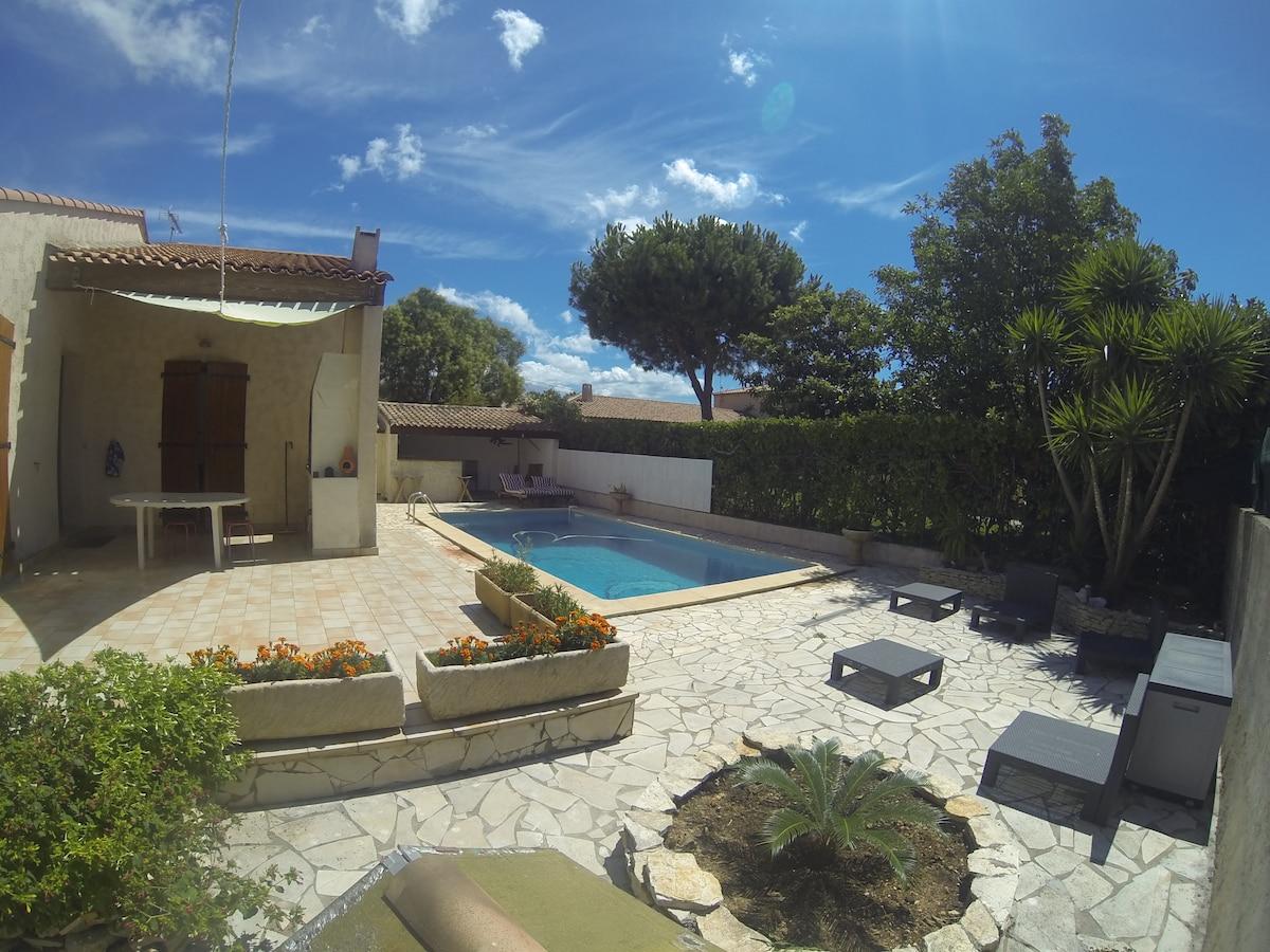 loue superbe villa et sa piscine