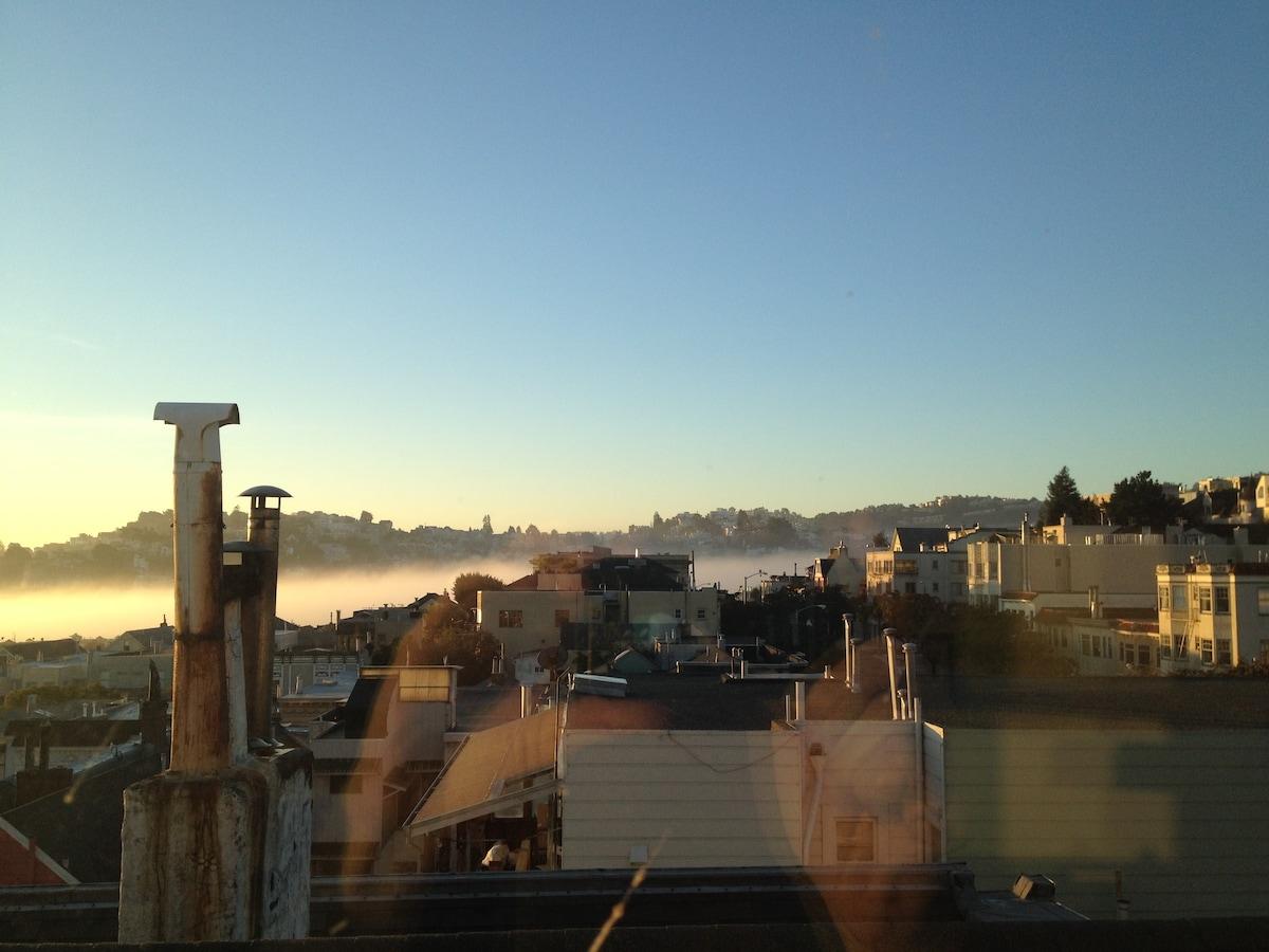 Home in the Sky in San Francisco