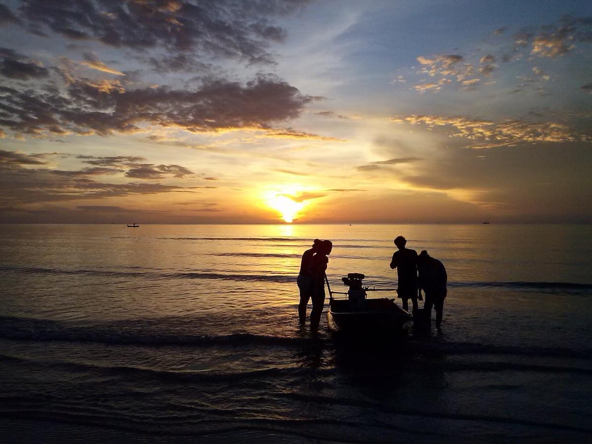 Beach paradise Hua Hin Thailand