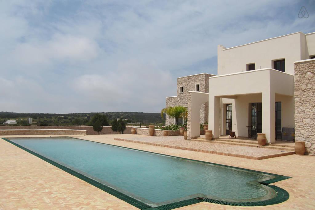 Maison d'hôte: La Villa océane