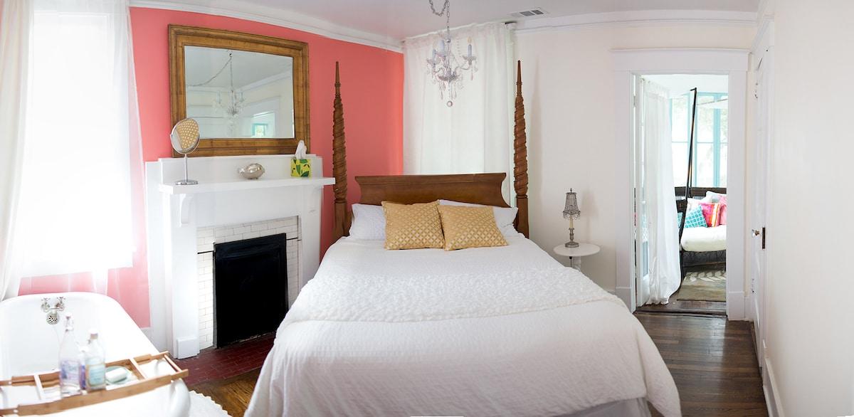 Enjoy an extra soft pillow top queen mattress!