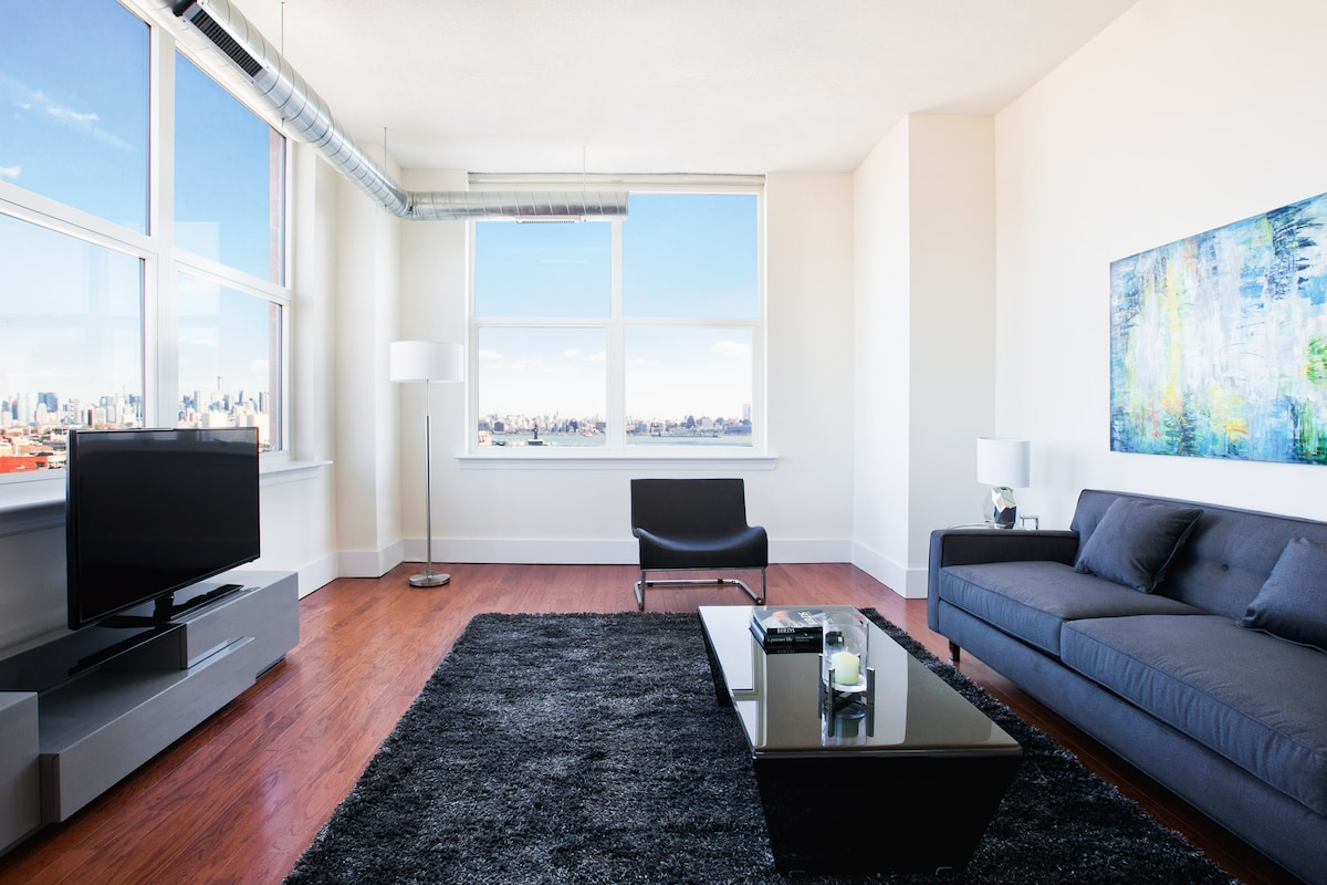 SoHo West - 3 Bdrm with NYC Views