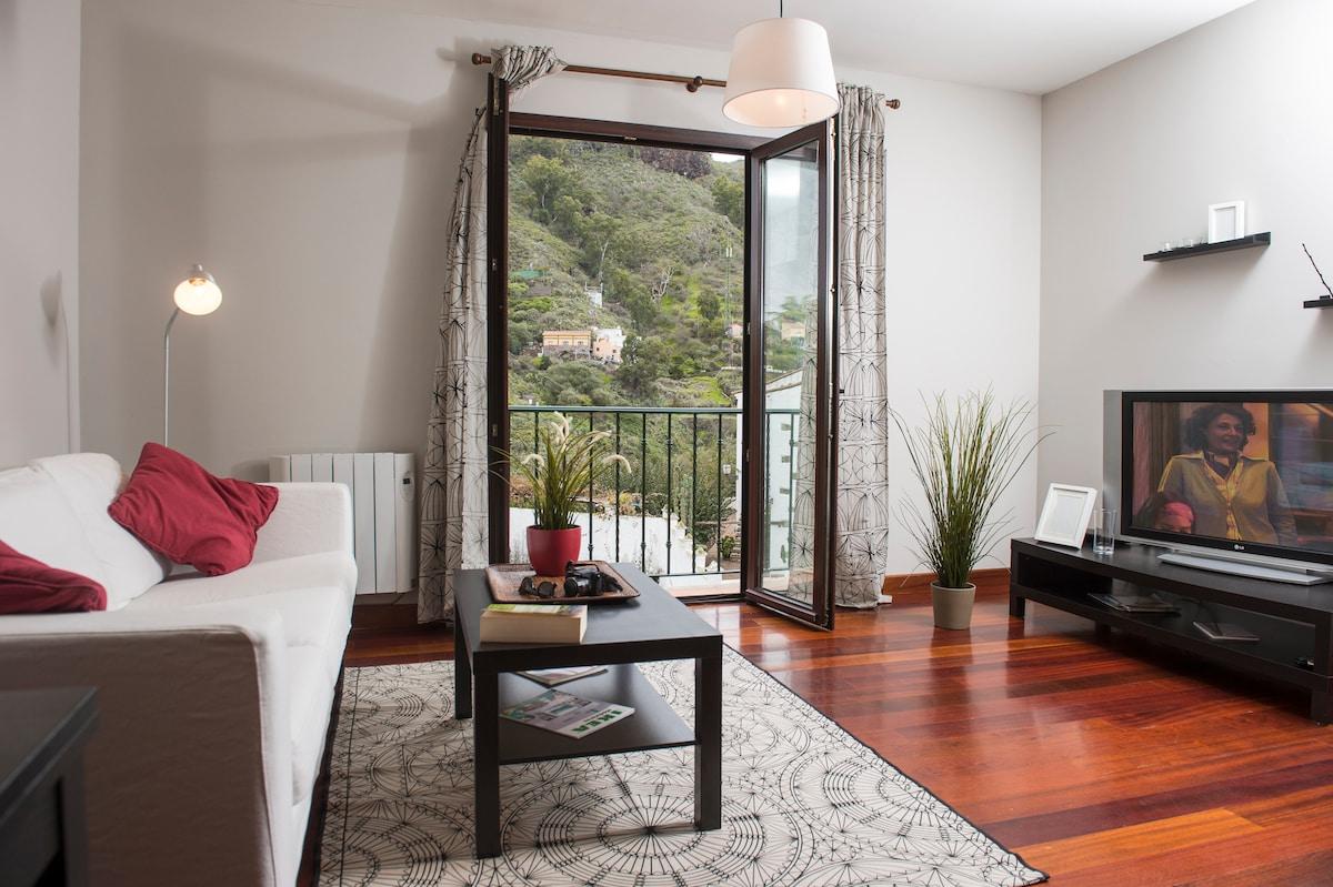 Nice, warm flat in San Mateo