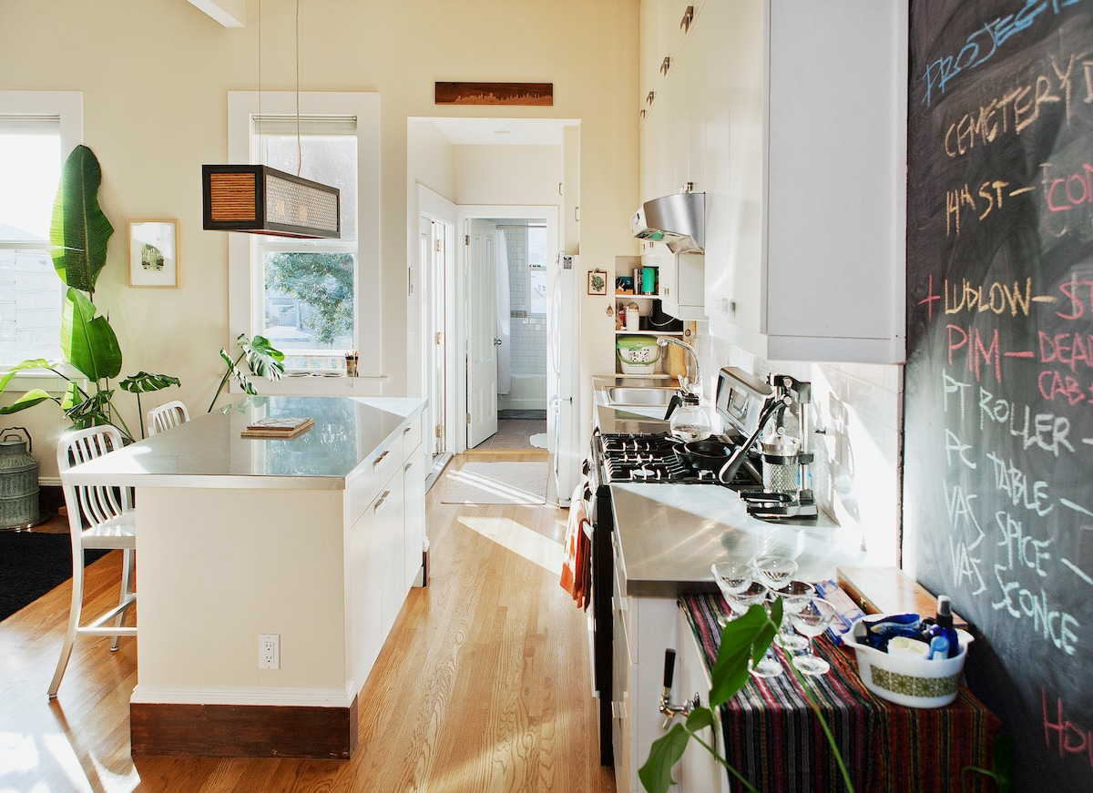 Spacious, sunny home in the Mission