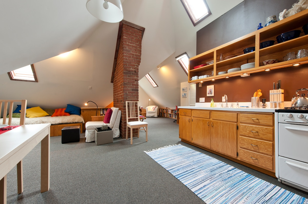 Private Apartment in Historic Home