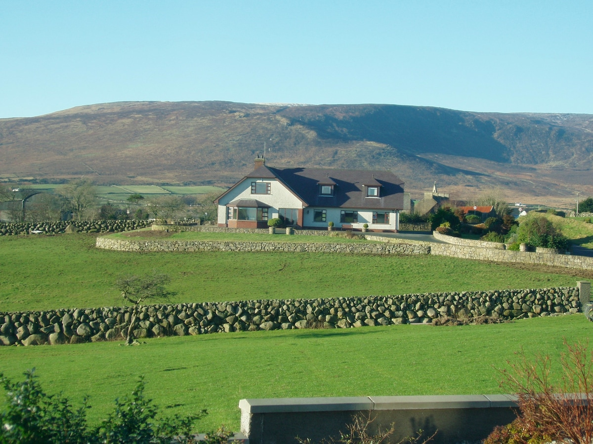 Located in the Mourne Mountains
