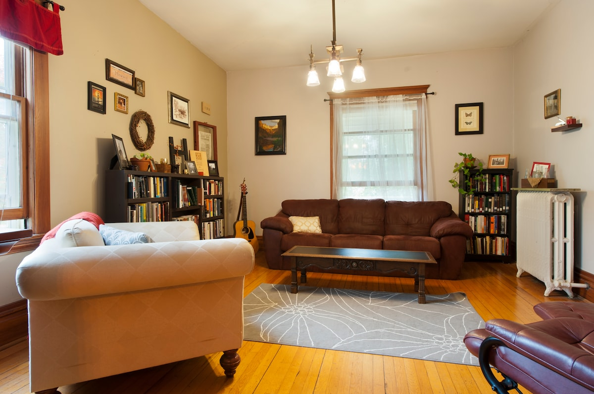 Urban, walkable stay downtown.