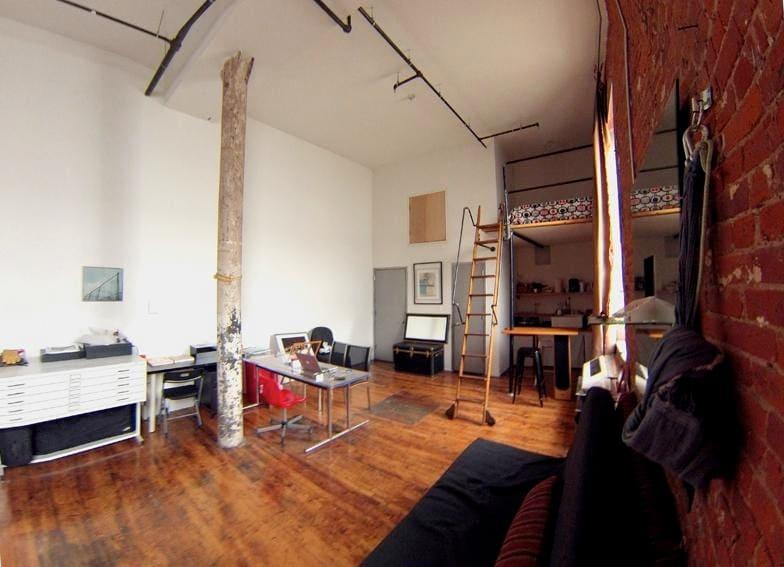 Artist loft 15 from Williamsburg ;)
