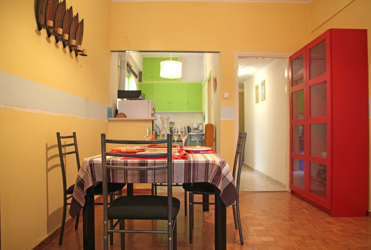 Welcome and have a colourful stay in Athens!