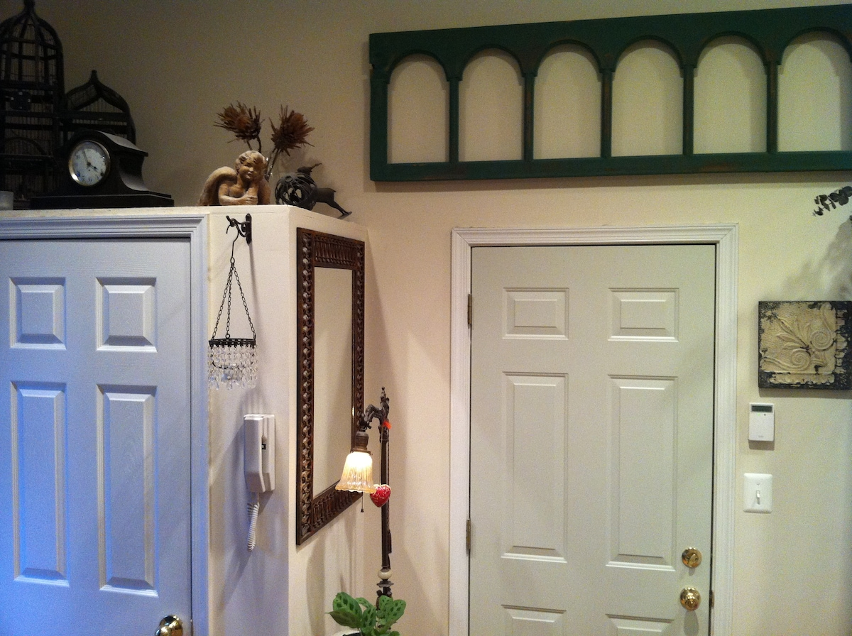 Foyer and Closet