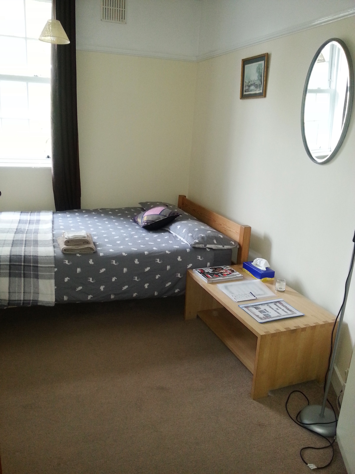 Great double room, 5mins from train