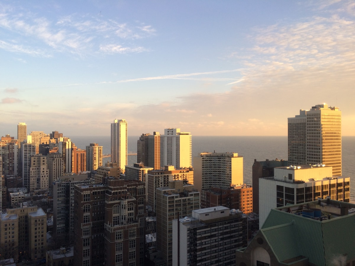 Downtown Condo with Great Lake View