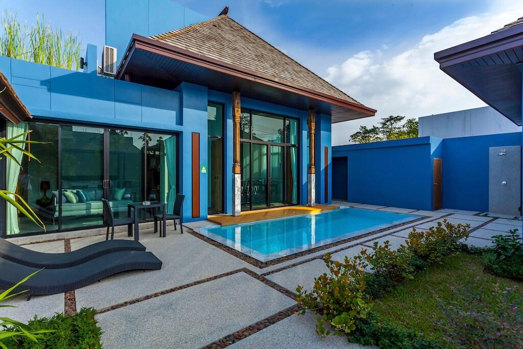 Wings Villa Layan Beach 3 Bedrooms