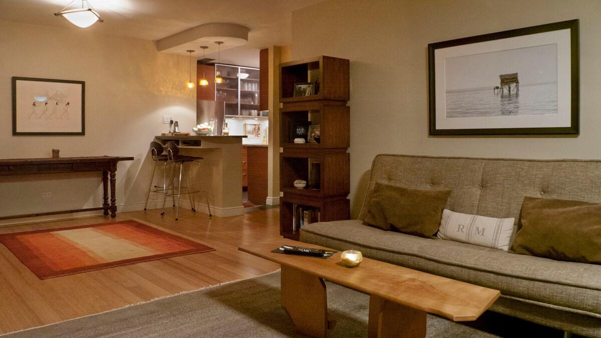 Modern spacious flat in Manhattan
