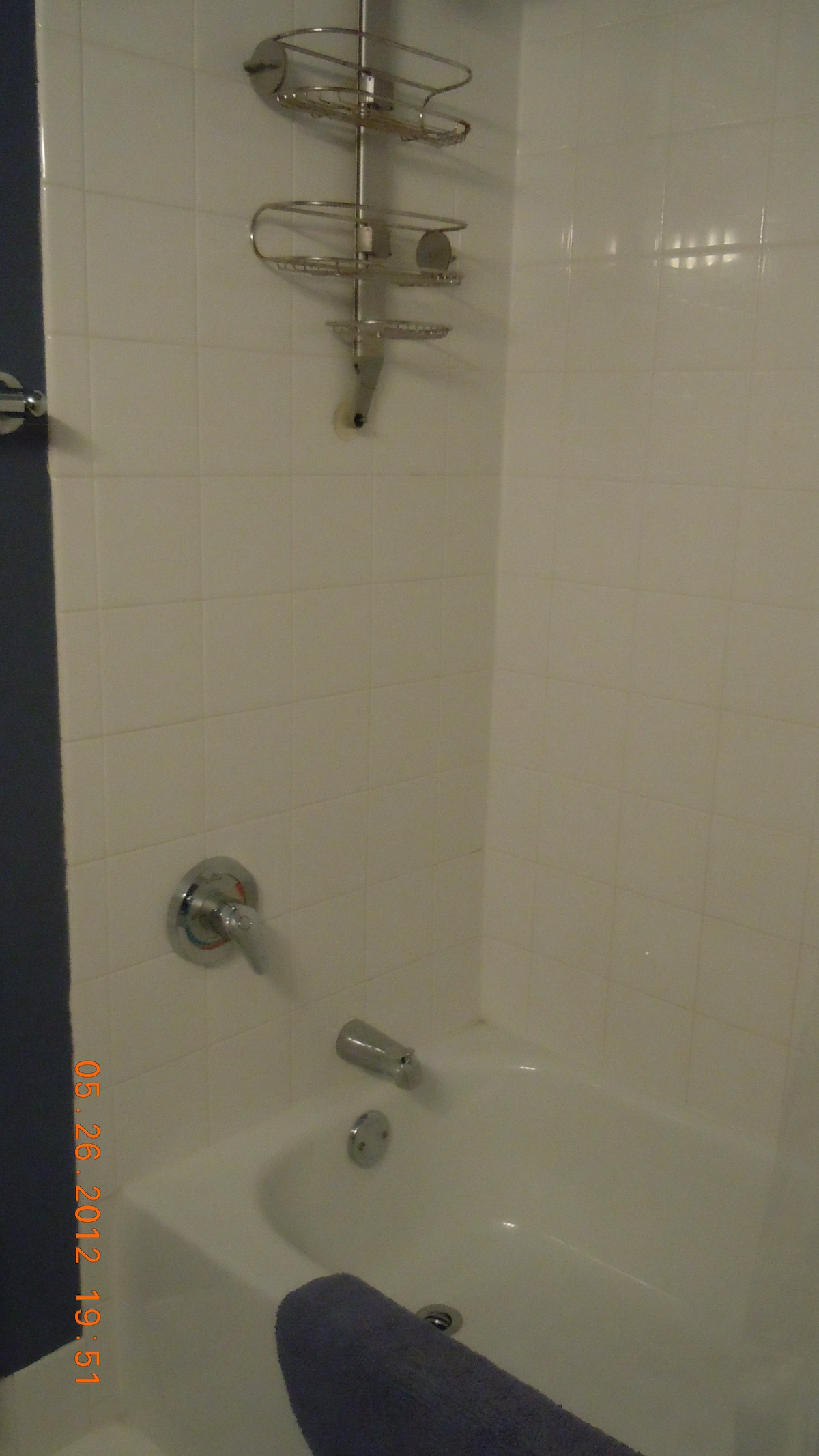 Tub/shower in your bathroom
