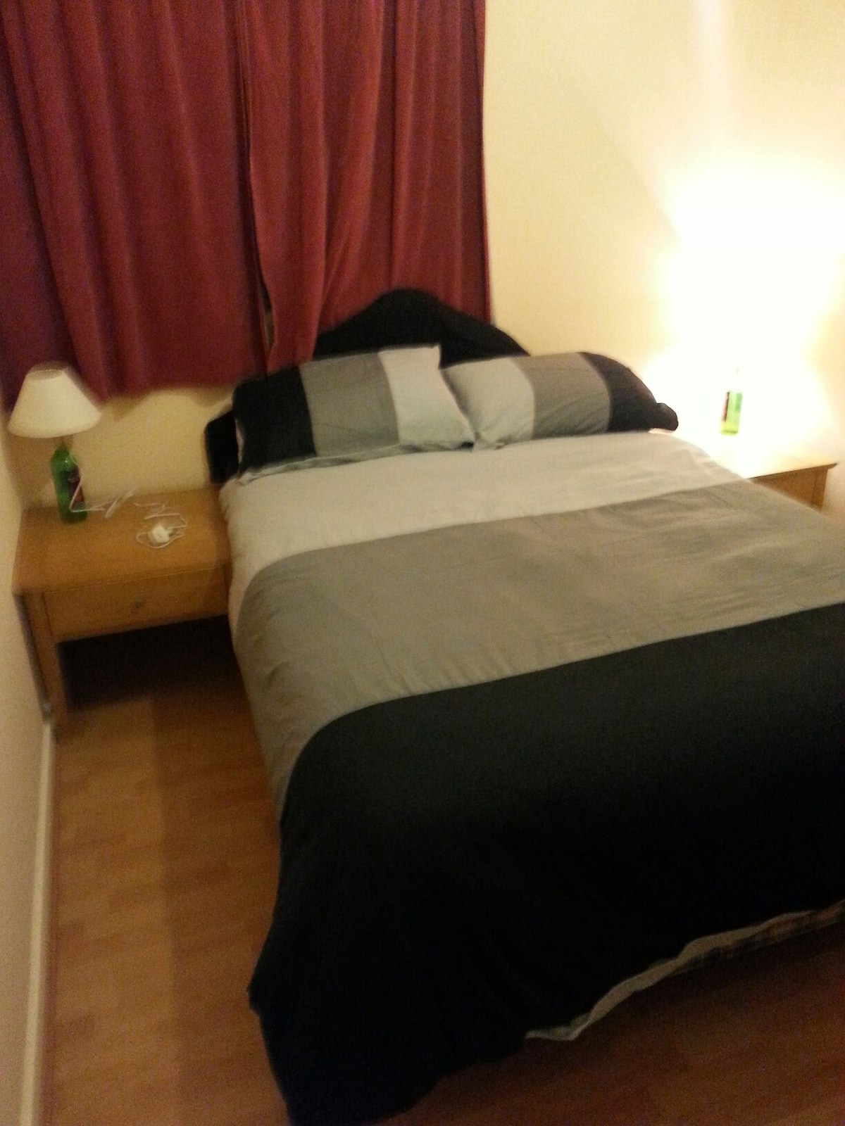 Room w/ double bed near city center