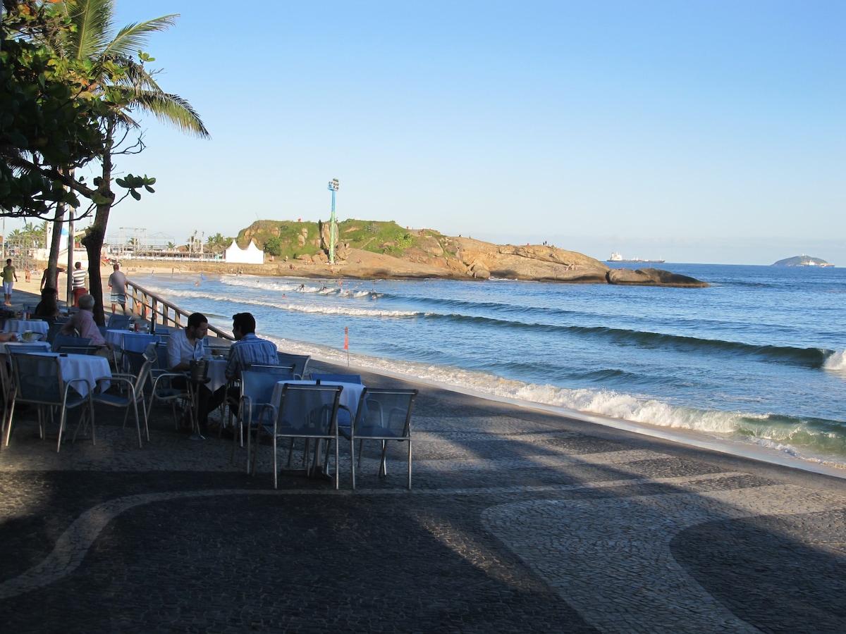 Ipanema Beach: Arpoador