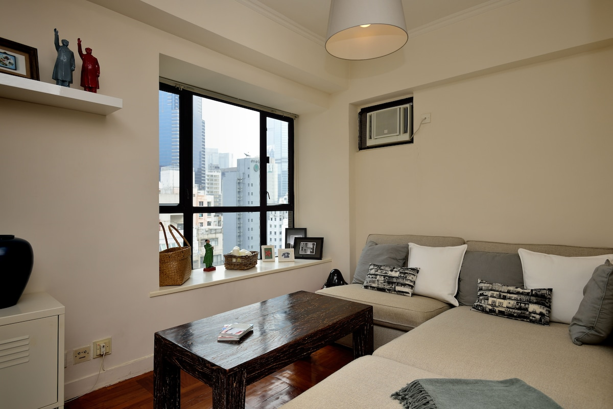 1 Bedroom Apt in trendy Sheung Wan