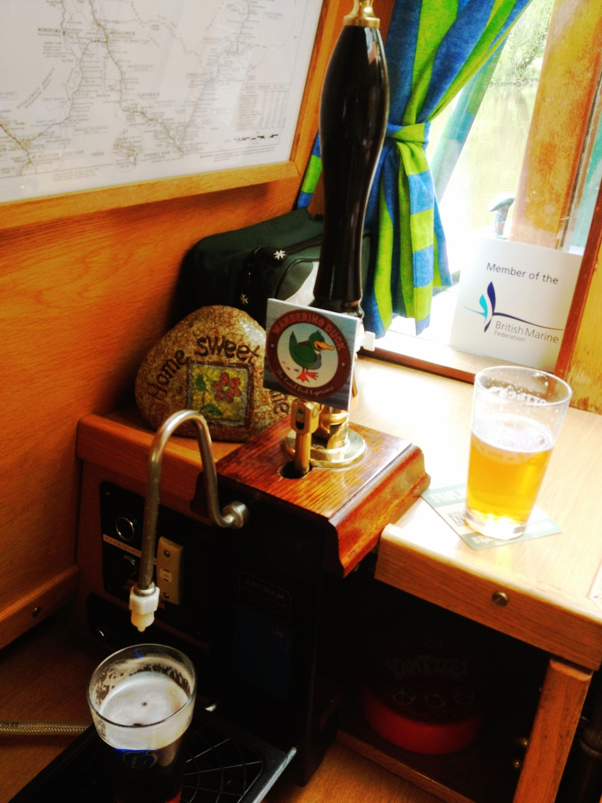 Pull your own pint of real ale